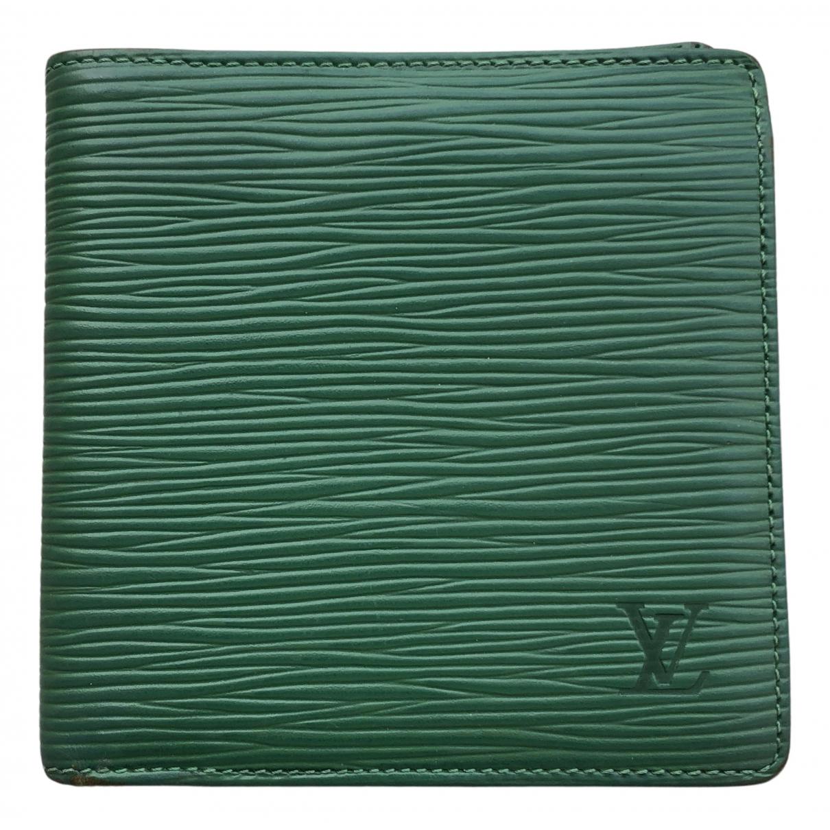 Louis Vuitton - Petite maroquinerie   pour femme en toile - vert