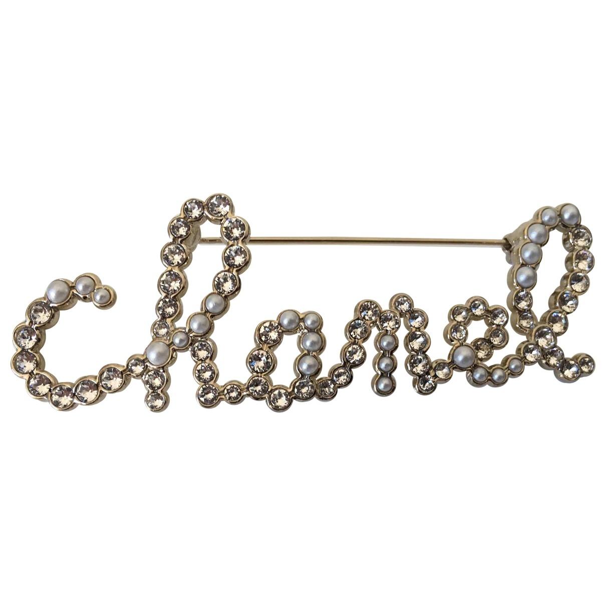 Chanel - Broche CHANEL pour femme en metal