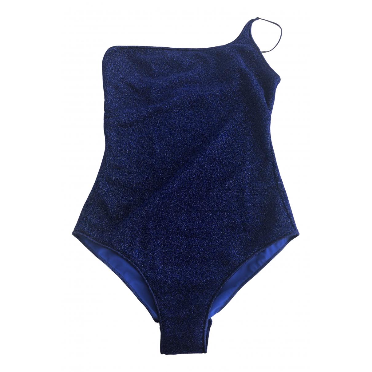 Oseree \N Badeanzug in  Blau Lycra