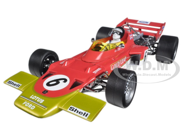 Lotus 72C 6 Jochen Rindt 1970 France Grand Prix Winner Limited Edition to 3000pcs 1/18 Diecast Model Car by Quartzo