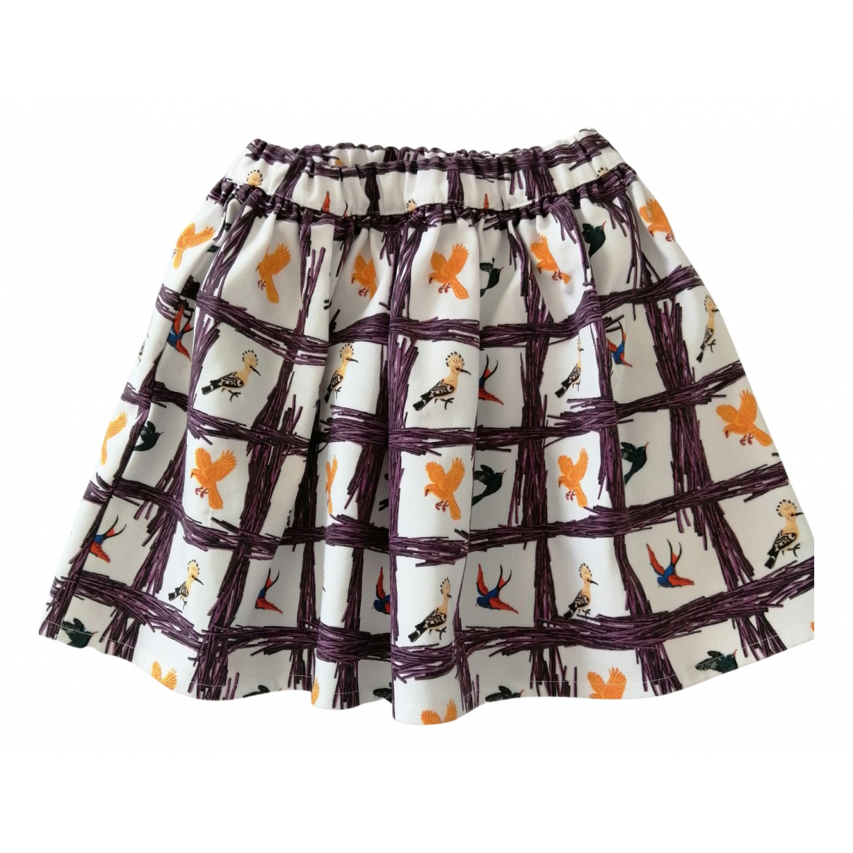 Stella Jean N White Cotton skirt for Kids 4 years - up to 102cm FR