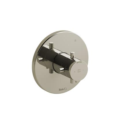 Riu RUTM47PN 3-Way No Share Type Thermostatic/Pressure Balance Coaxial Complete Valve  in Polished