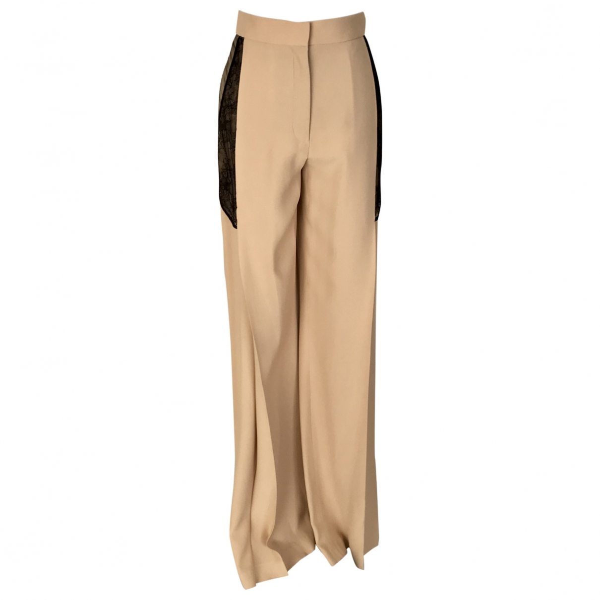 Zuhair Murad \N Beige Trousers for Women 42 IT
