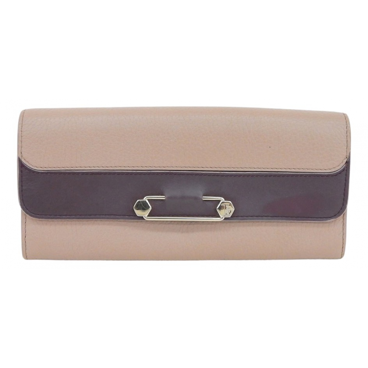 Tod's \N Purple Leather wallet for Women \N