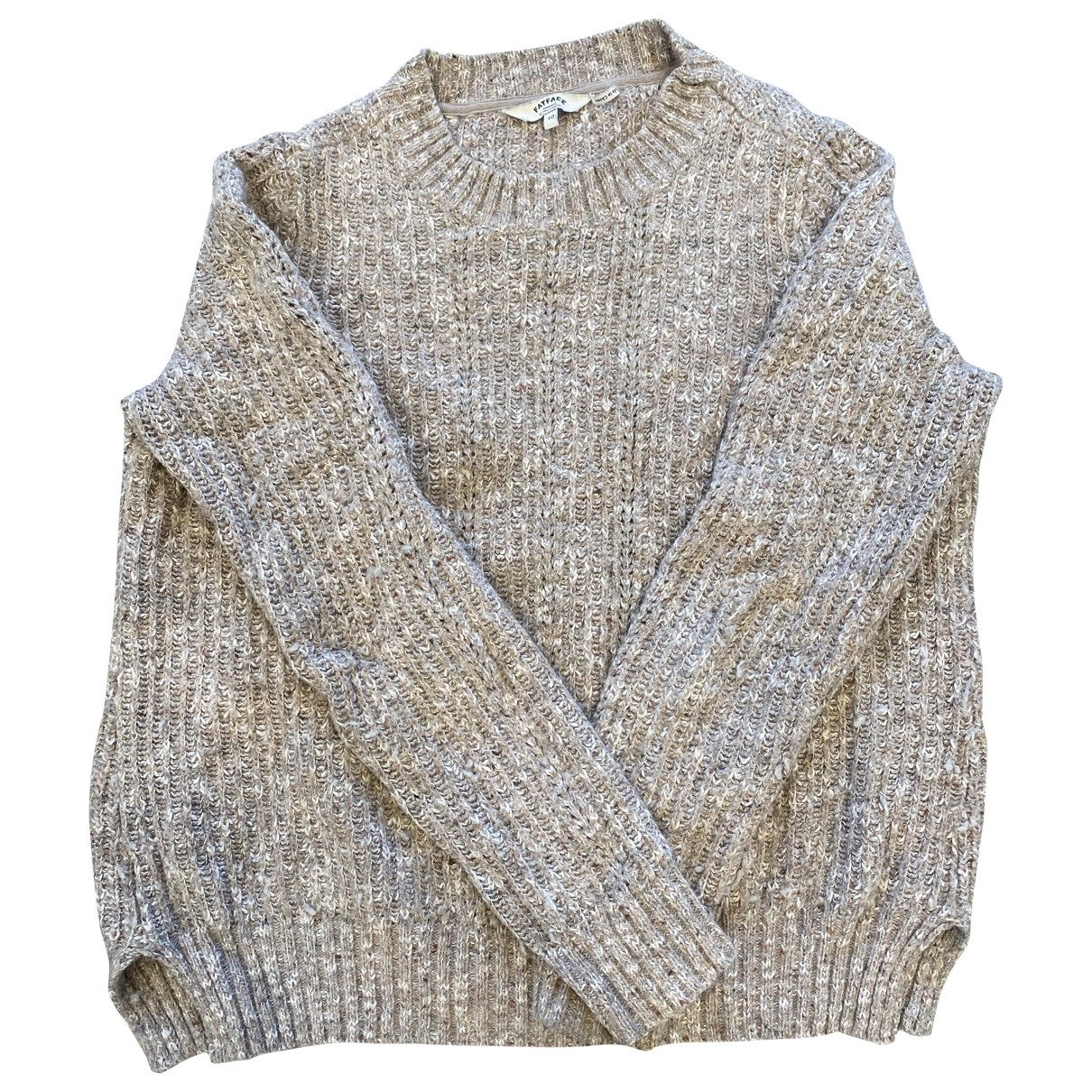 Non Signé / Unsigned \N Camel Wool Knitwear for Women S International