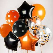 9 Stuecke Dekoration Ballon Set