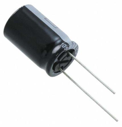 Panasonic 2700μF Electrolytic Capacitor 35V dc, Through Hole - EEUFS1V272 (100)