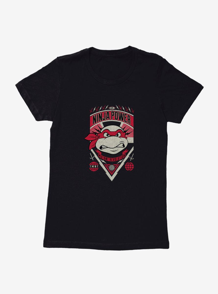 Teenage Mutant Ninja Turtles Raphael Ninja Power Mutant Revolution Womens T-Shirt