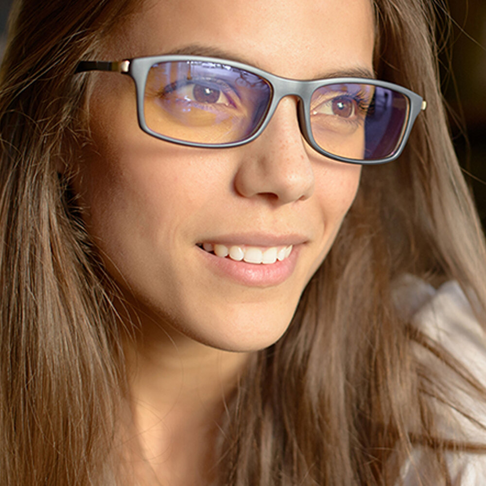 Prospeck Anti-blue Light Square Frame Glasses