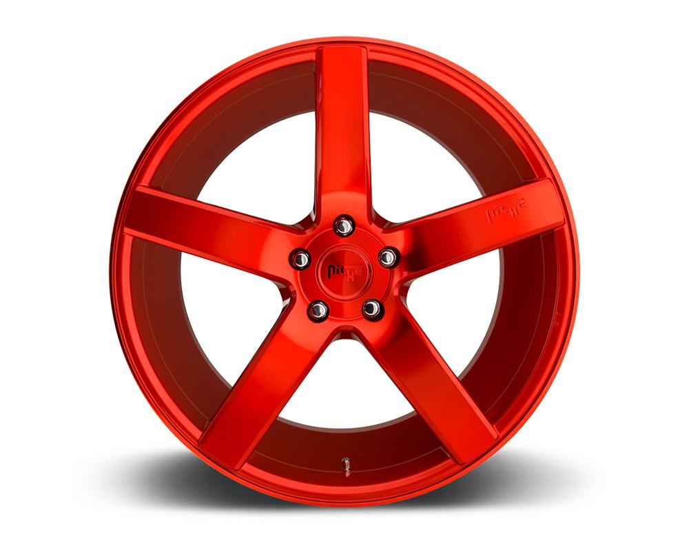 Niche M187 Milan Candy Red 1-Piece Cast Wheel 20x10 5x114.3 40mm