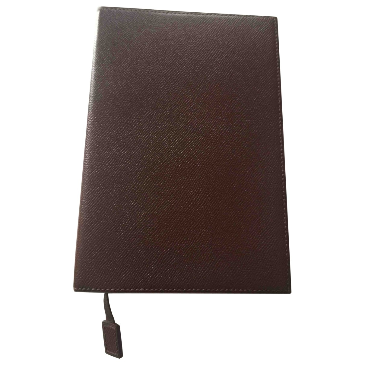 Hermès \N Brown Leather Home decor for Life & Living \N