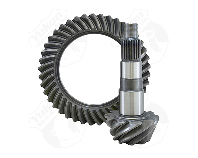 Yukon Replacement Ring And Pinion Gear Set Dana 44 Short Pinion Rev Rotation 3.73 Yukon Gear & Axle YG D44RS-373RUB