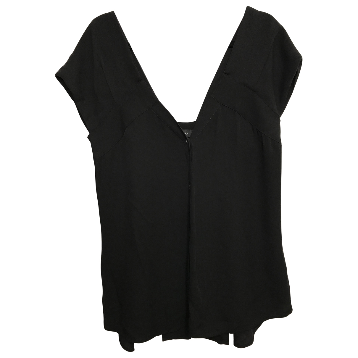 Theory \N Black Silk  top for Women M International