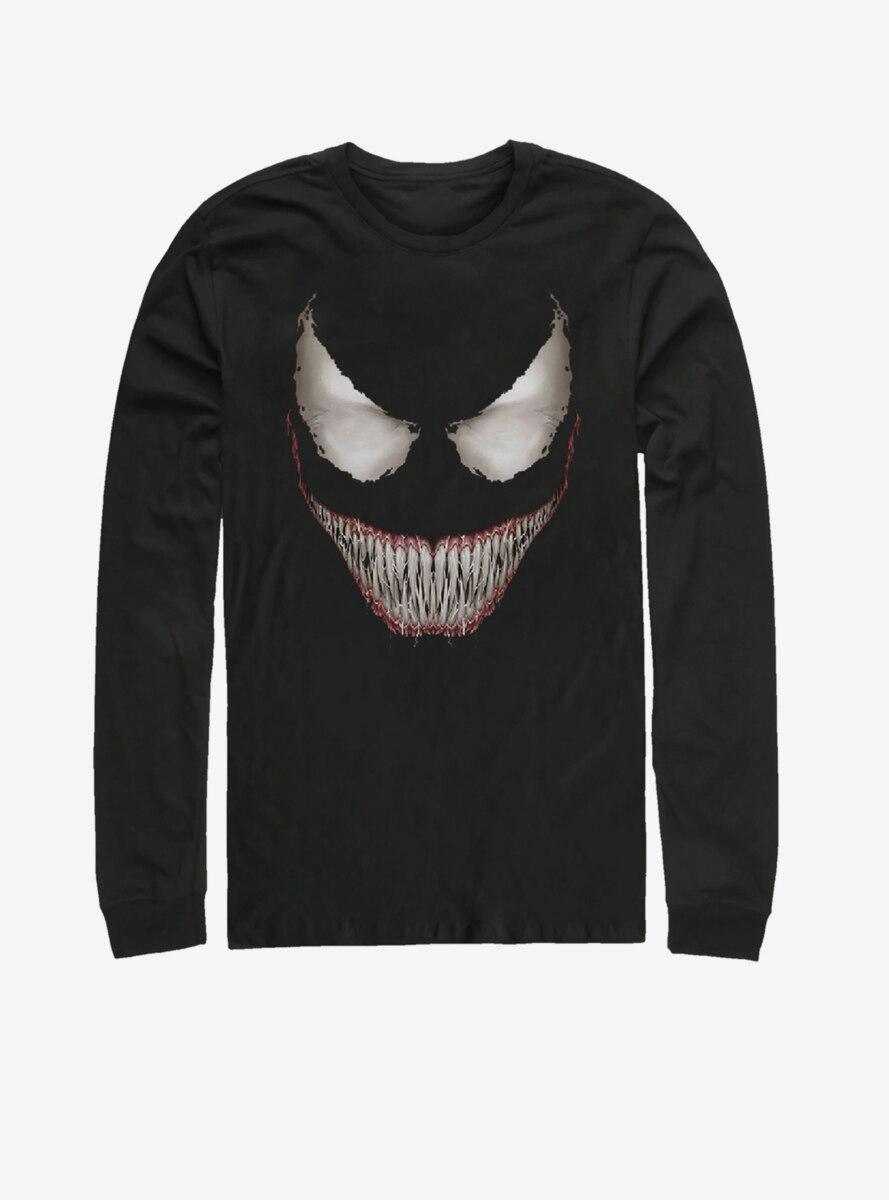 Marvel Venom Venom Face Long-Sleeve T-Shirt