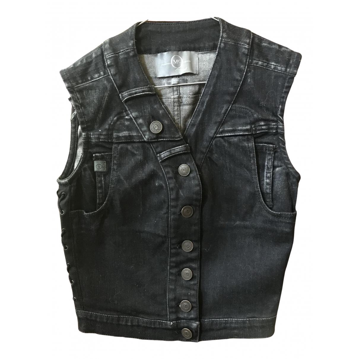 Mcq N Black Denim - Jeans jacket for Women 38 IT