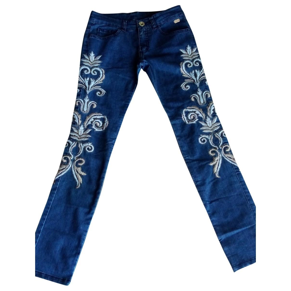 Roberto Cavalli \N Blue Denim - Jeans Trousers for Kids 12 years - XS FR