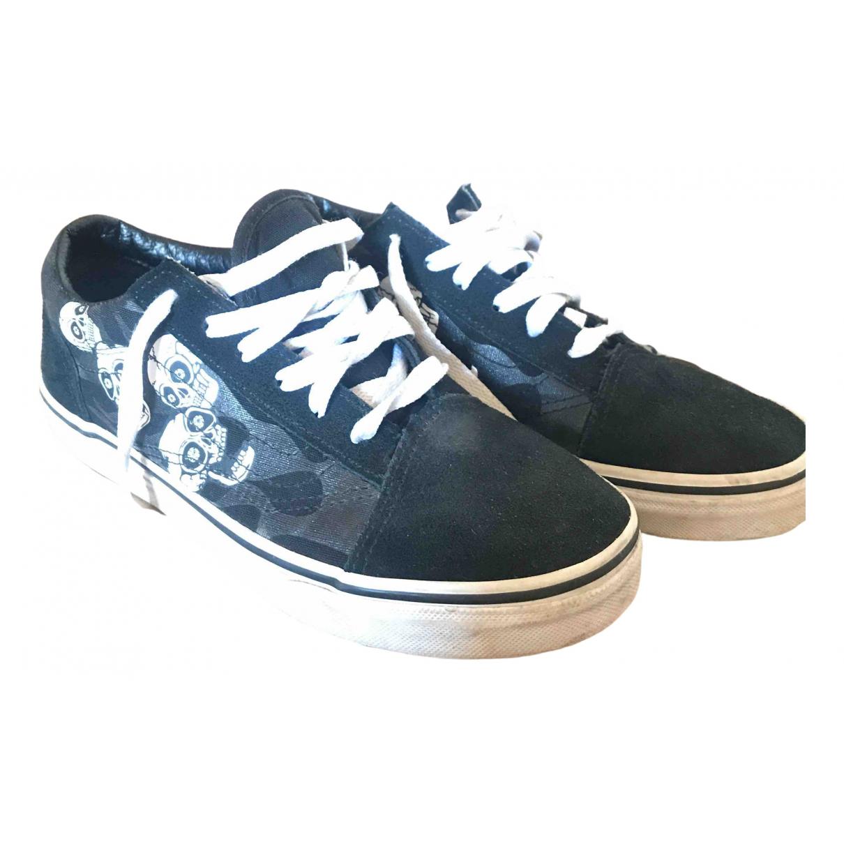 Vans \N Black Suede Lace up boots for Kids 4.5 UK