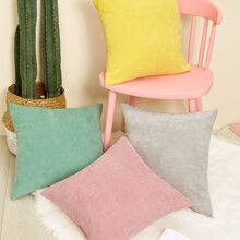 Plain Corduroy Cushion Cover 1pc