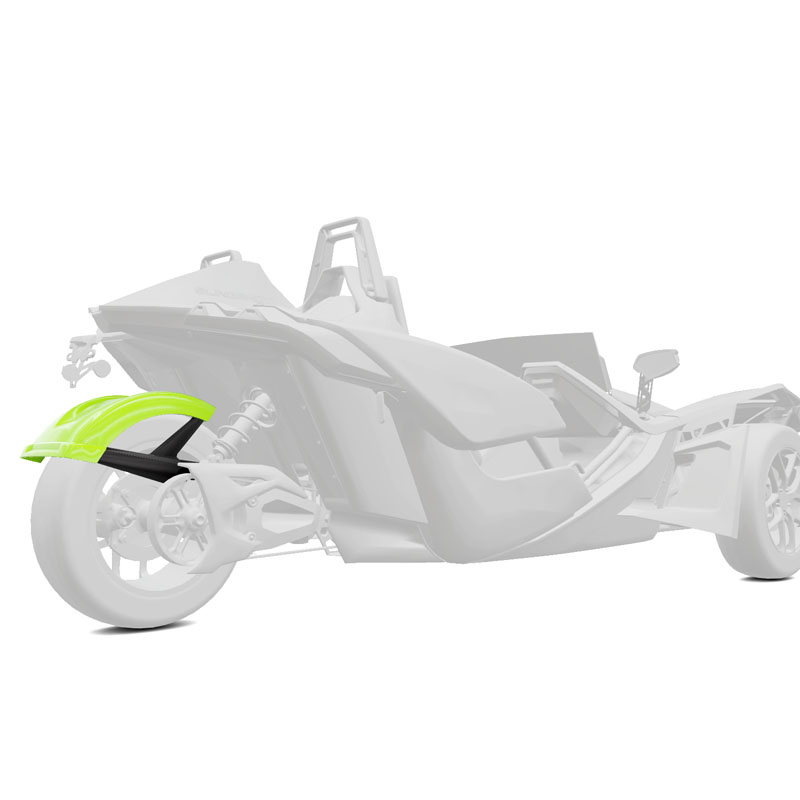 Polaris 305MM Rear Fender - Lime Squeeze