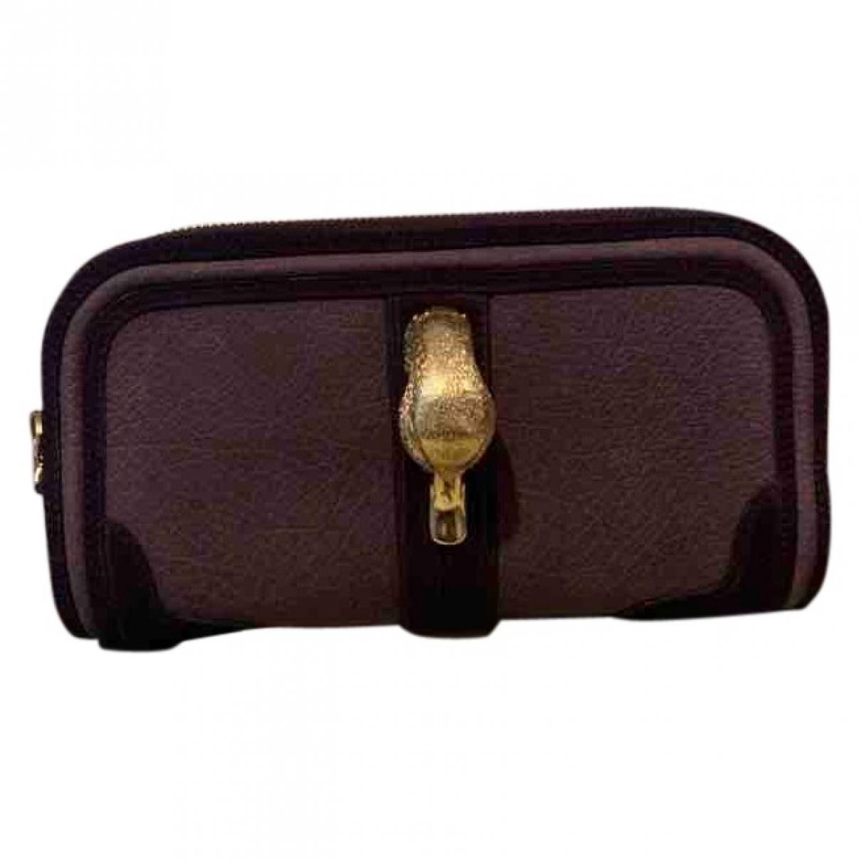 Burberry - Pochette   pour femme en suede - violet