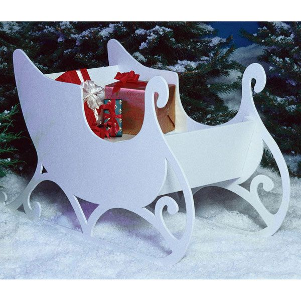 Woodworking Project Paper Plan to Build Sleigh