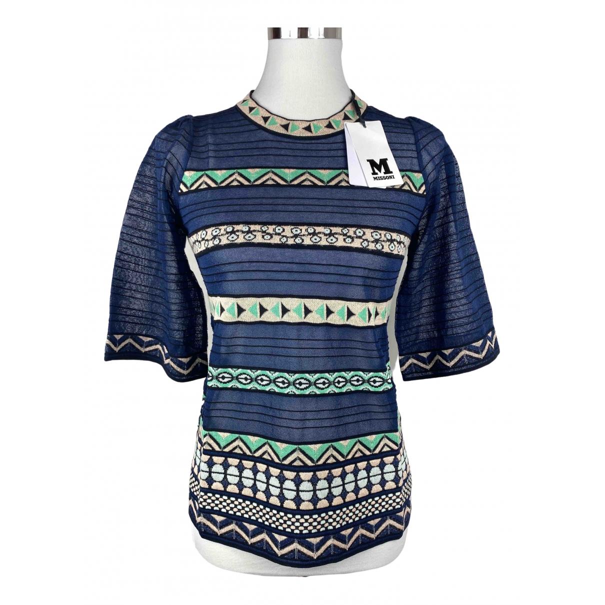 Missoni \N Blue Cotton  top for Women 40 IT