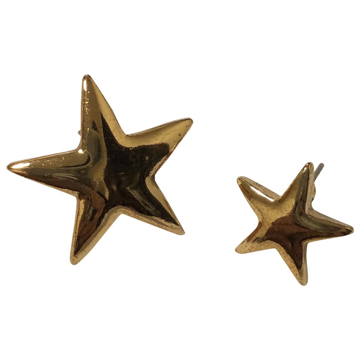 Kenneth Jay Lane \N Gold gold and steel Earrings for Women \N