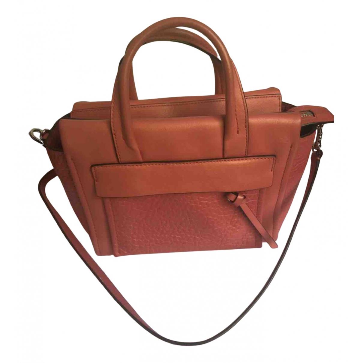 Coach \N Handtasche in  Rot Leder