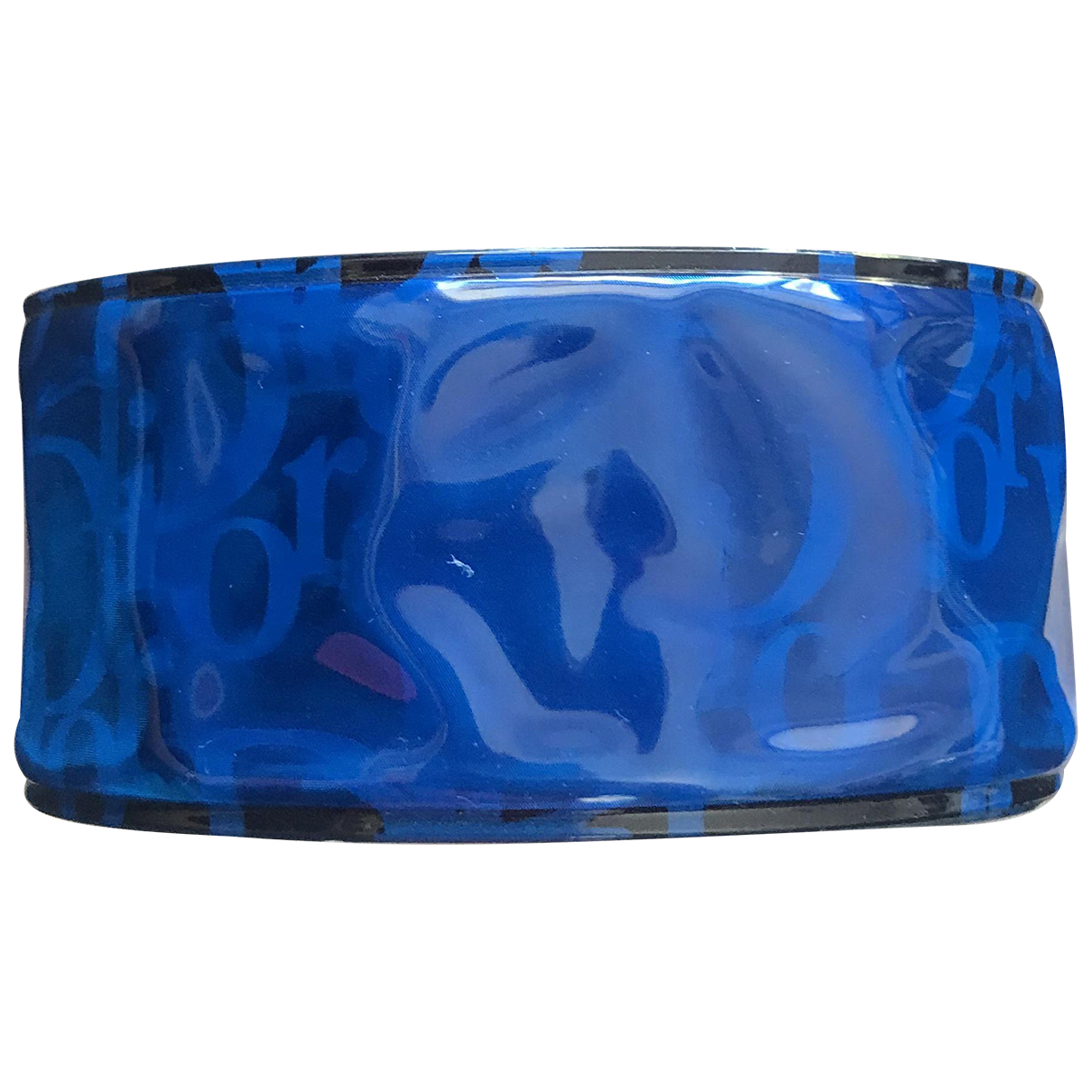 Dior \N Armband in  Blau Kunststoff