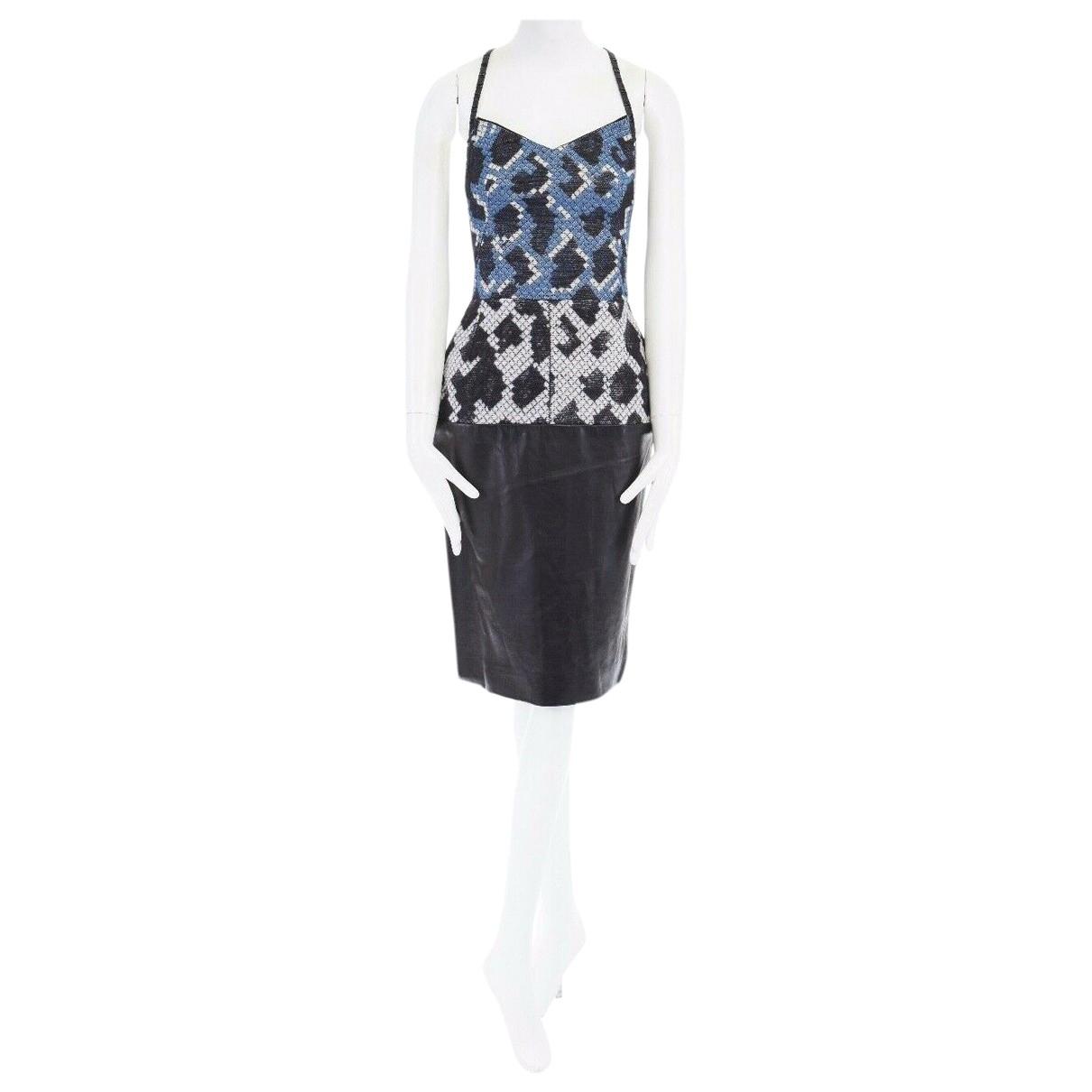 Balenciaga \N Kleid in  Grau Wolle