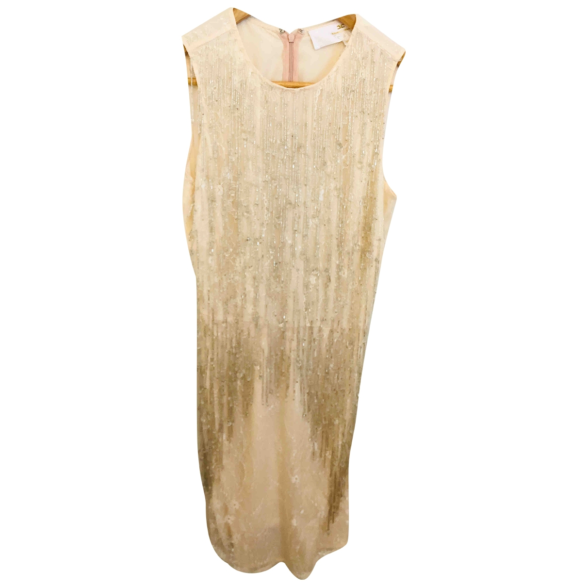 Elisabetta Franchi \N Pink Glitter dress for Women 40 IT