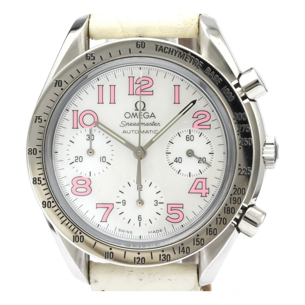 Omega Speedmaster White Steel watch for Men \N