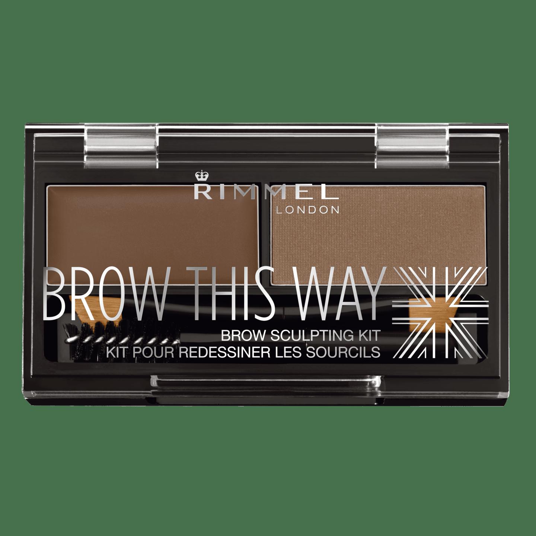 Brow This Way Eyebrow Sculpting Kit - Medium Brown