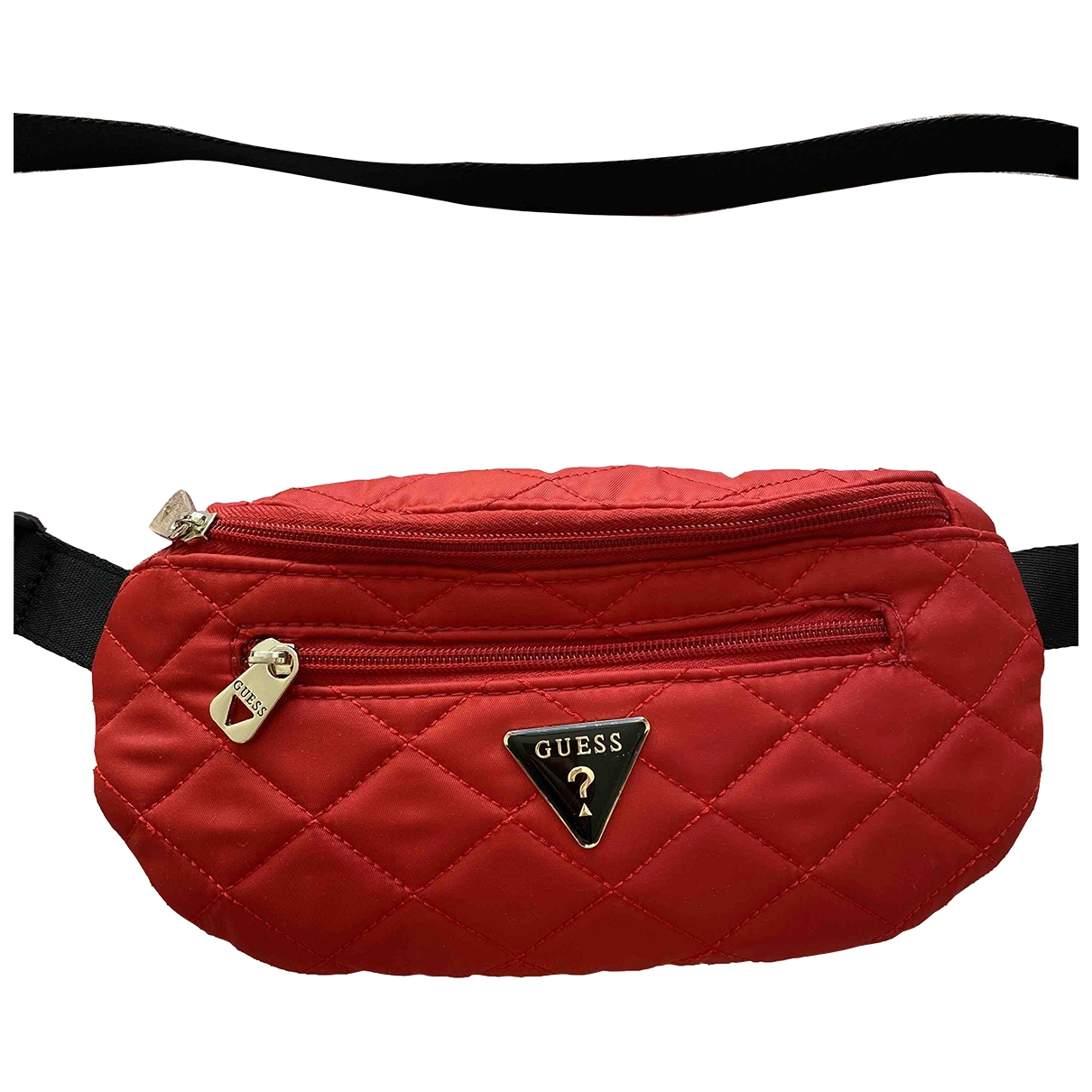 Guess \N Handtasche in  Rot Polyester