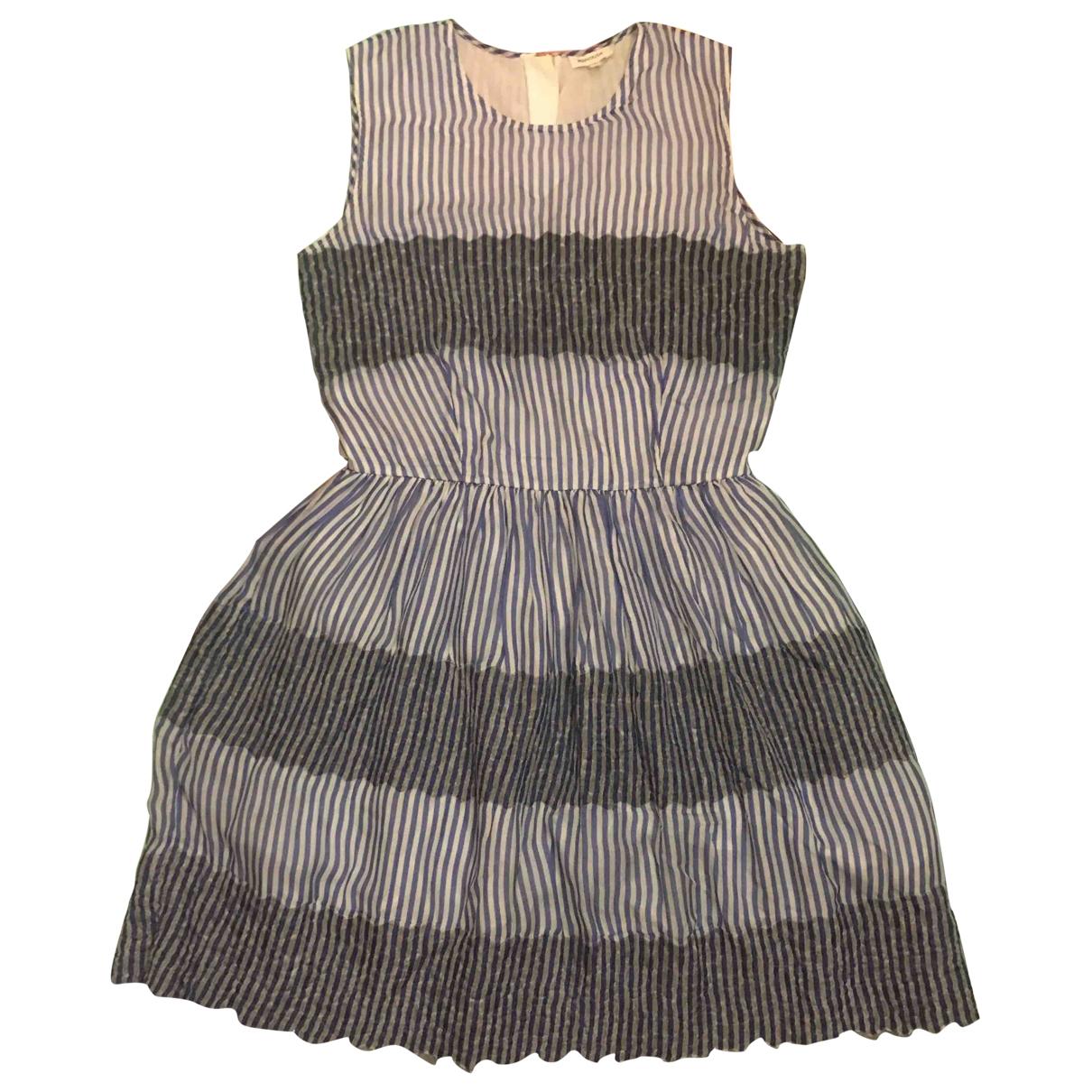 Manoush \N Blue Silk dress for Women 38 FR