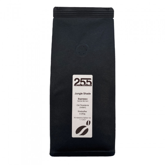 "Kaffeebohnen 255 Coffee Roasters ""Jungle Shade Espresso"", 250 g"