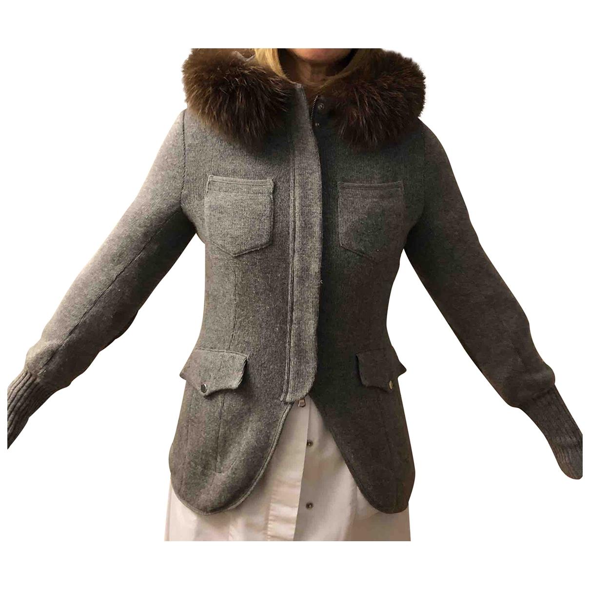 Brunello Cucinelli \N Grey Cashmere jacket for Women 40 IT