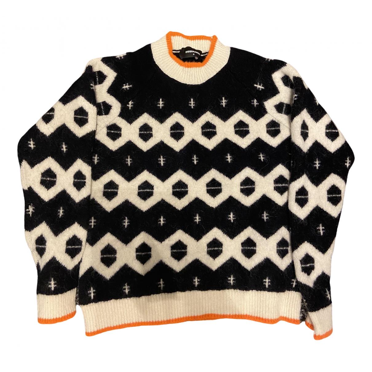 Dsquared2 \N Black Wool Knitwear & Sweatshirts for Men M International