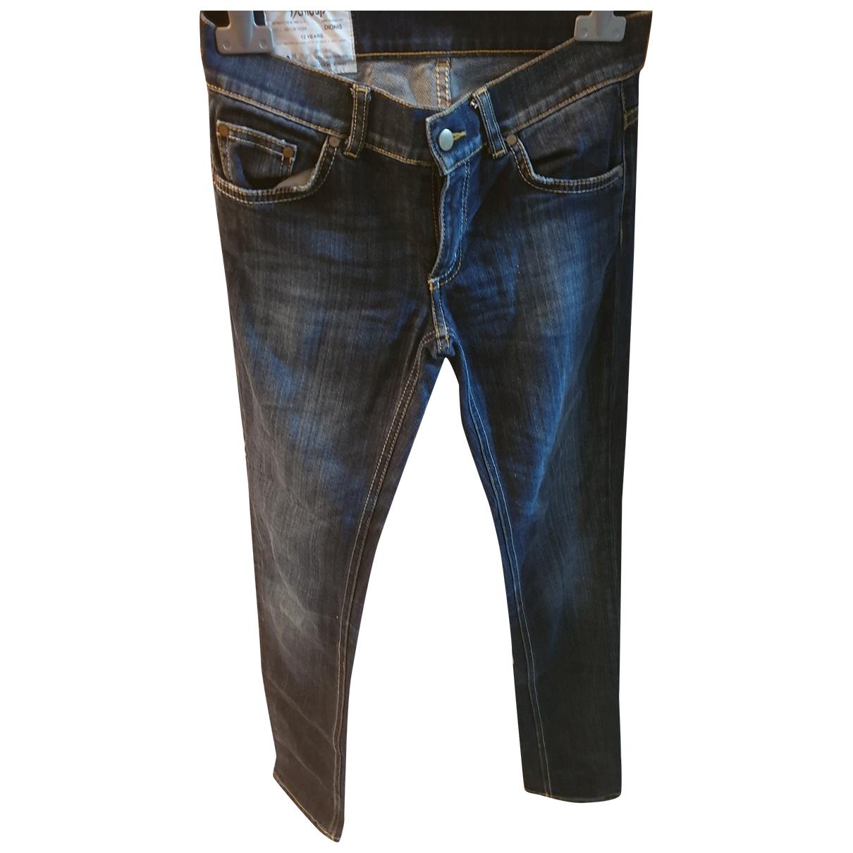 Dondup - Pantalon   pour enfant en denim - bleu