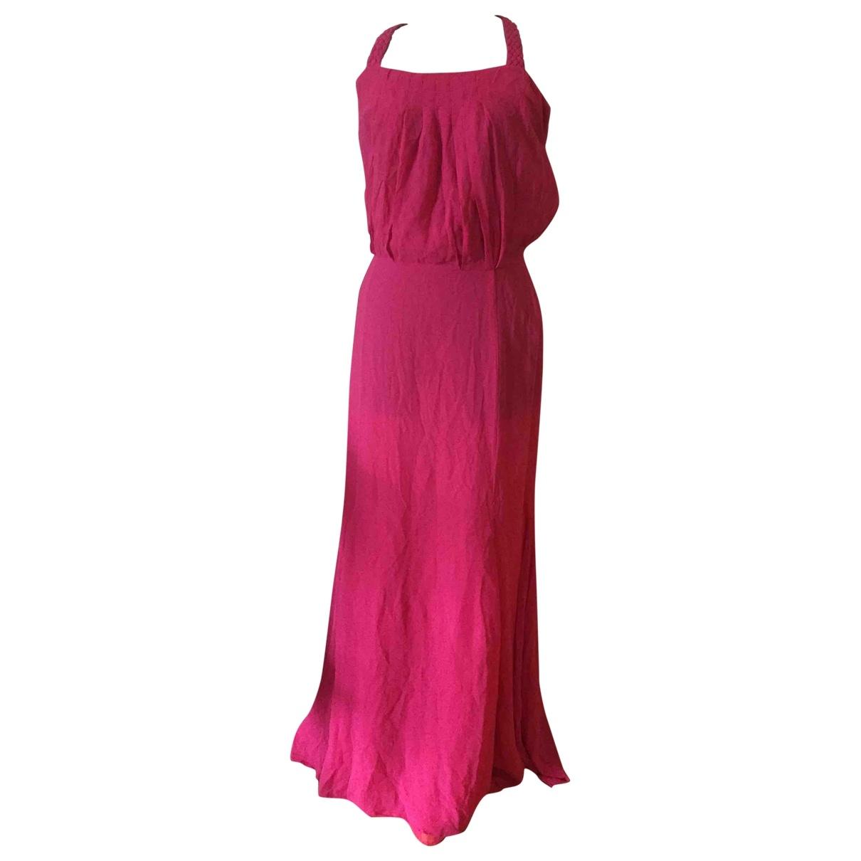 Maxi vestido de Seda Etienne Aigner