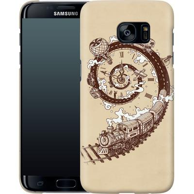 Samsung Galaxy S7 Edge Smartphone Huelle - Time Travel von Enkel Dika