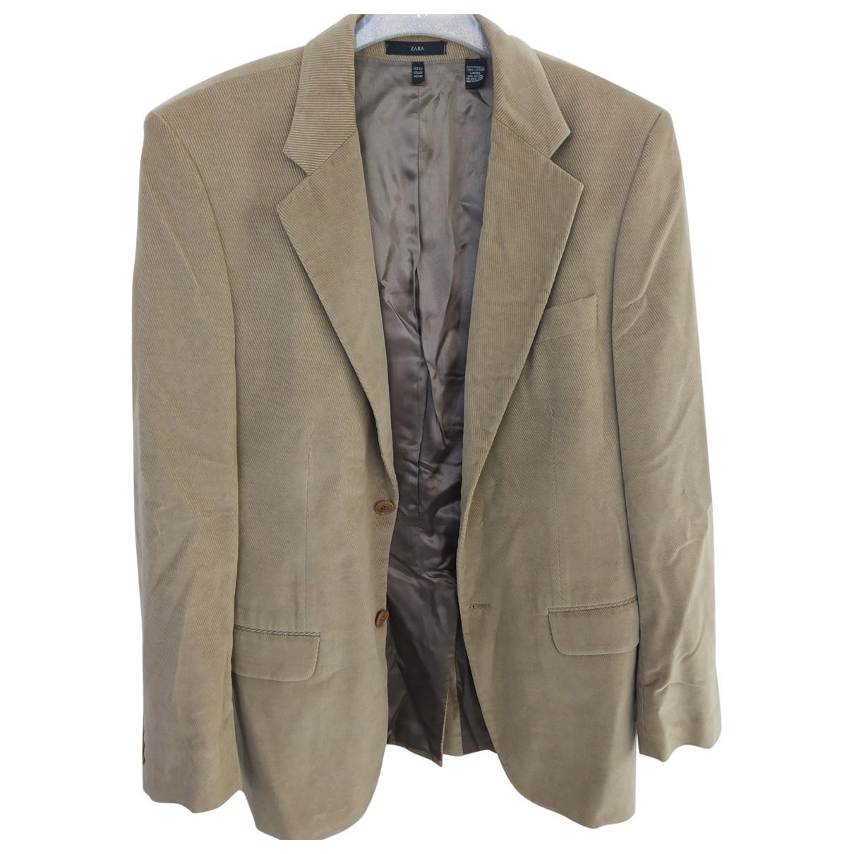 Zara \N Camel Velvet jacket  for Men 50 IT