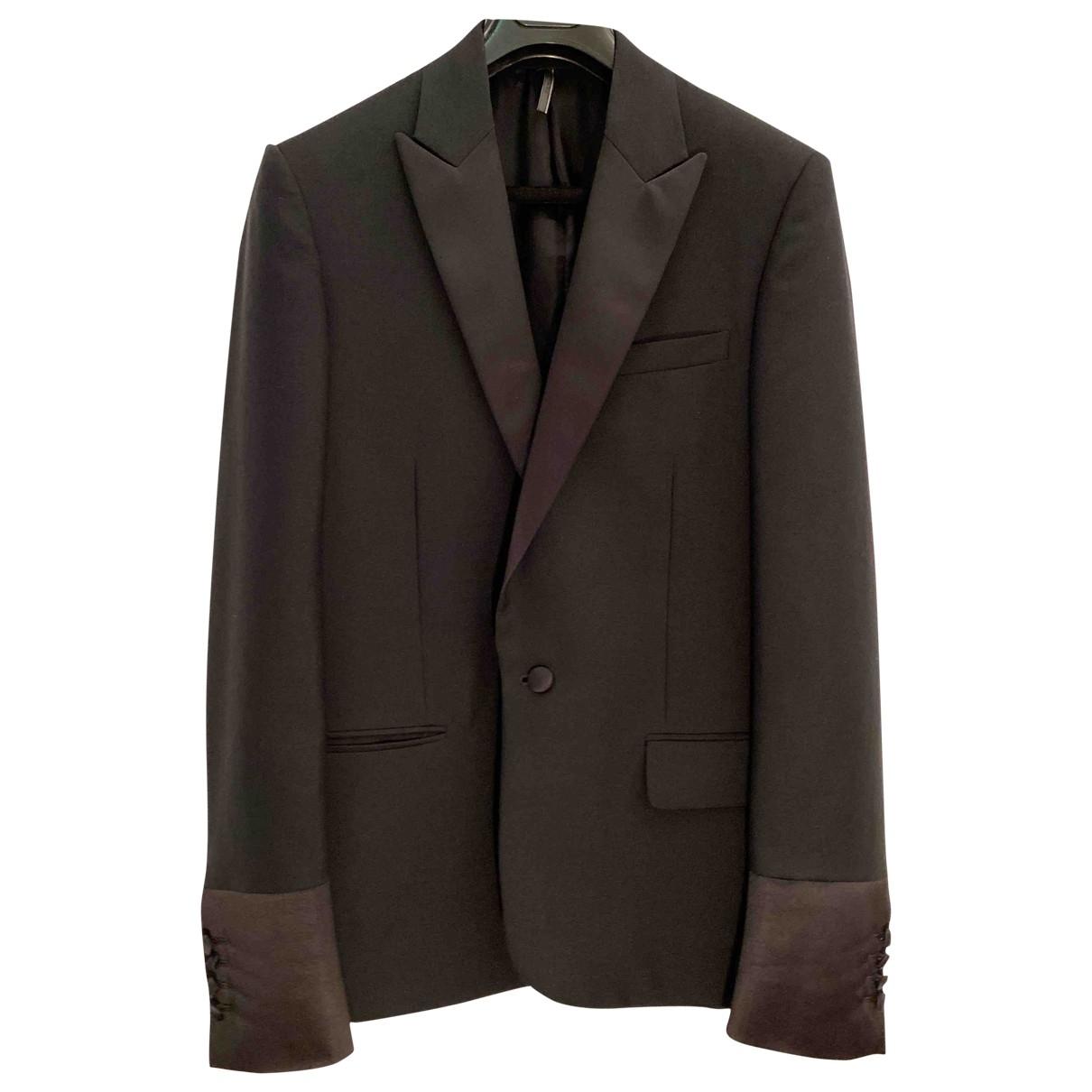 Dior Homme - Vestes.Blousons   pour homme en laine - noir