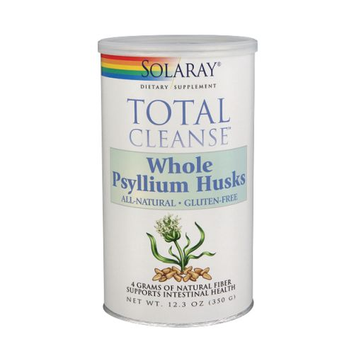Total Cleanse Whole Psyllium Husks Unflavored 350 Grams by Solaray