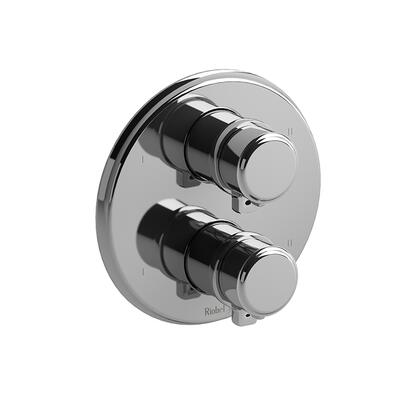 Momenti MMRD88JC 4-Way No Share Thermostatic/Pressure Balance Coaxial Complete Valve with J Lever Handles  in