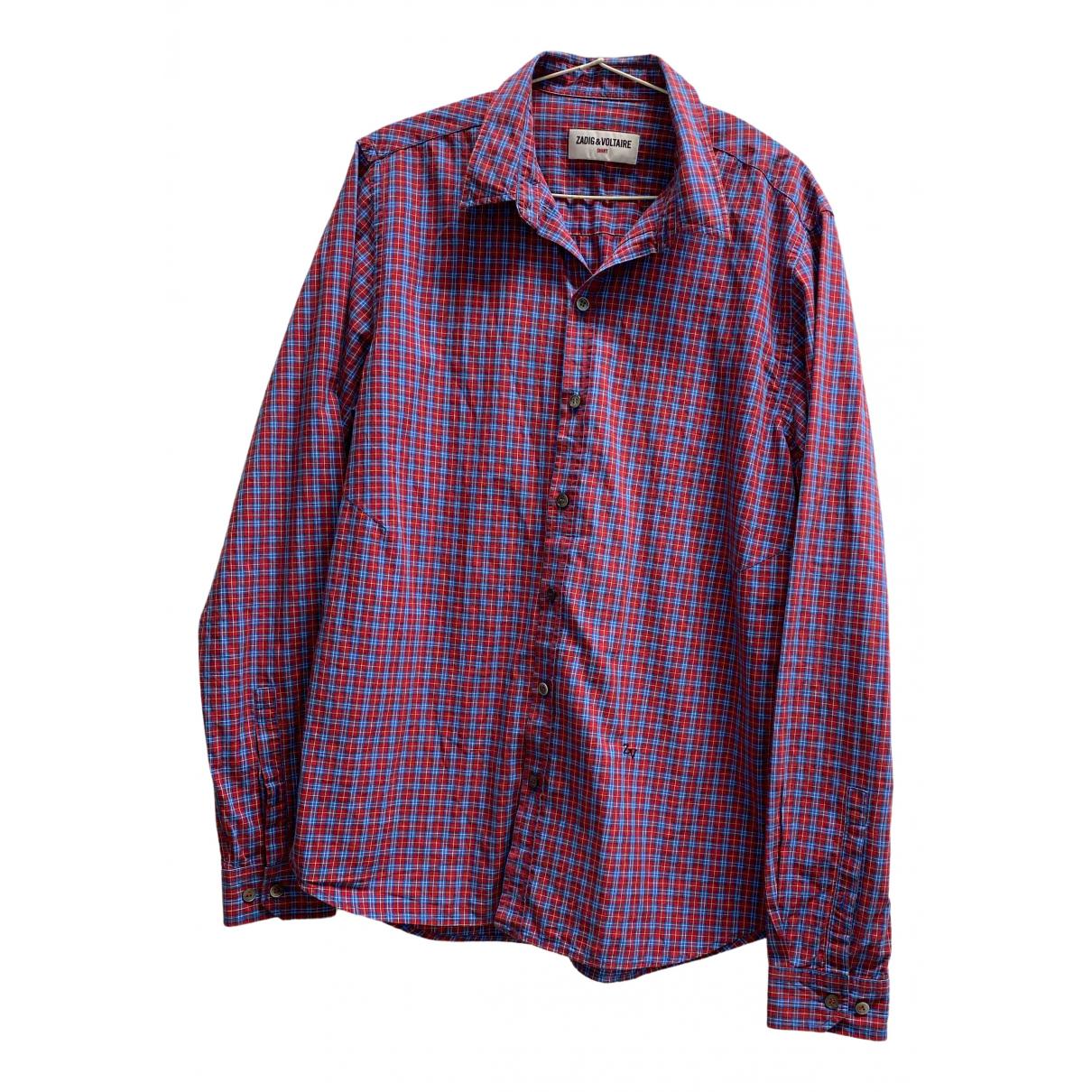 Zadig & Voltaire - Chemises   pour homme en coton - multicolore