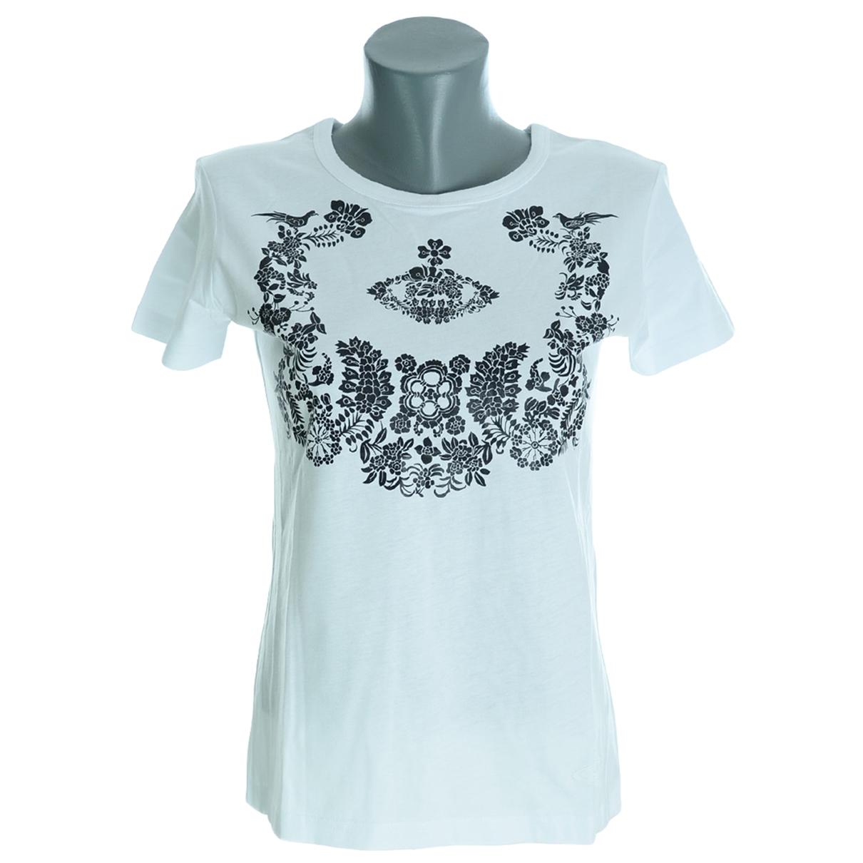 Vivienne Westwood Anglomania - Top   pour femme en coton - blanc