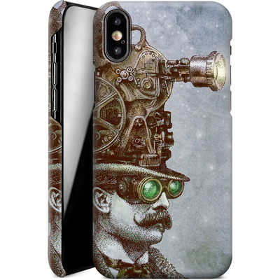 Apple iPhone XS Smartphone Huelle - The Projectionist von Eric Fan