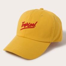 Guys Letter Embroidered Baseball Cap