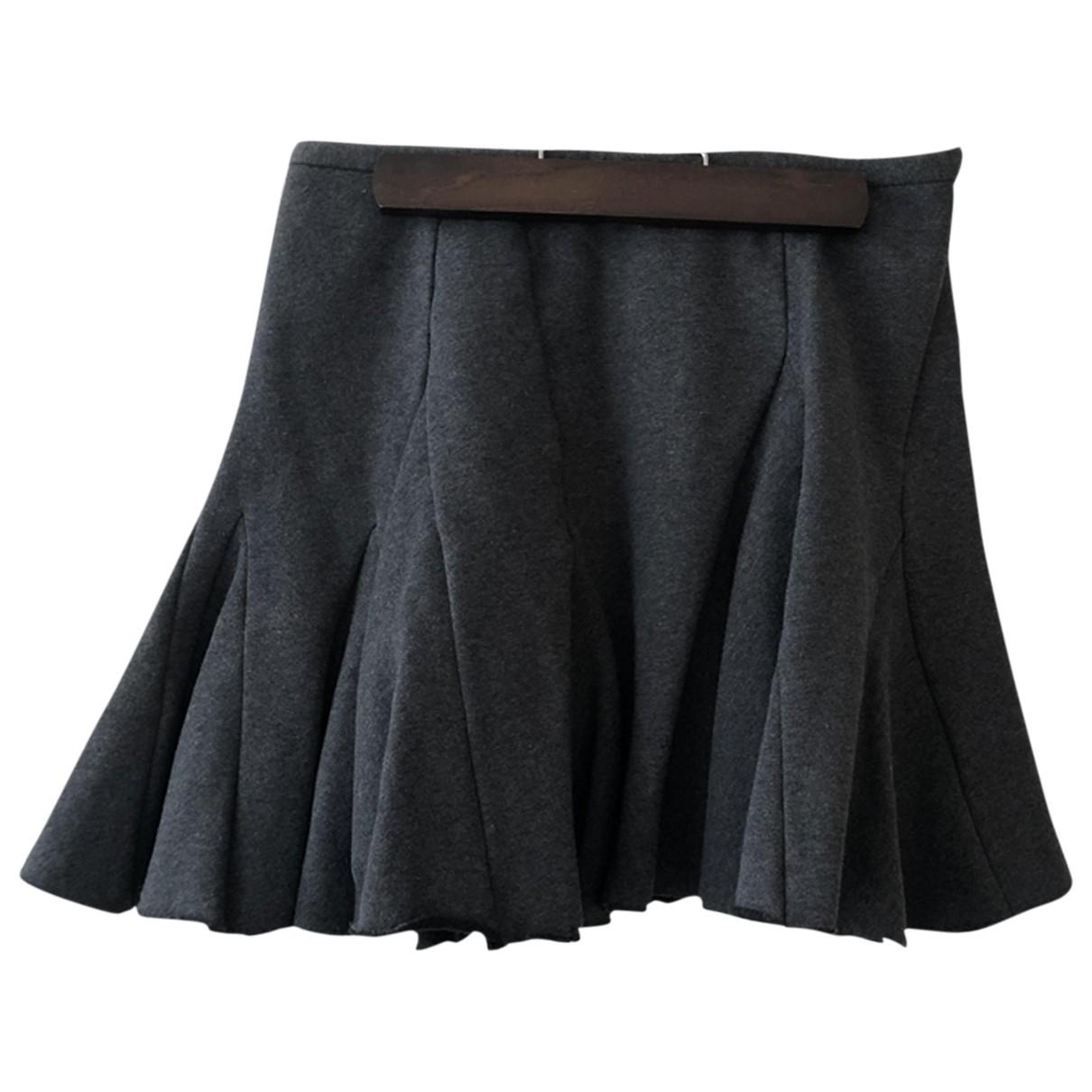 Chalayan - Jupe   pour femme en coton - gris